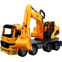 Large digging car big dig - Large digging car Children s inertial truck the simulation engineering toys the best gift for children No