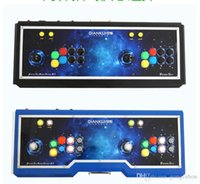 Wholesale Home arcade game yueguangbaohe arcade KOF double rocker TV fighting machine