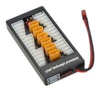 Wholesale New S S Lipo Battery Parallel Charging Board Charger Plate TX60 Plug for Imax B6 B6AC B8 in