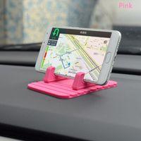 Wholesale New Universal Soft Silicone Car Holder Anti Slip Mat Holder Desktop Stand Bracket For Smart Phone GPS
