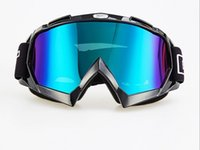 Wholesale Wind glasses Resistance to distortion anti throw goggles Dustproof motorcycle cross country goggles Ski goggles Fashion eyewear Outdoor cycl