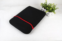 Wholesale Slim Laptop Sleeve Bag for inch tablet PC Notebook Soft Cloth ipad Waterproof Case Tablet inner bags