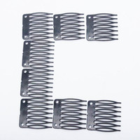 Wholesale Wig Combs For Wig Making Combs hair extensions tools combs Clips with teeth For Wig Cap