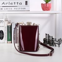 Women bag frame - 2017 New fashion bags handbag shoulder bag flagon personalized bag