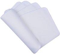 Wholesale 50pcs Absorbent white cmx40cm Microfiber Deep Waffle Weave Dish Cloths Dish Towel Microfibre Dishcloth Kitchen Towels