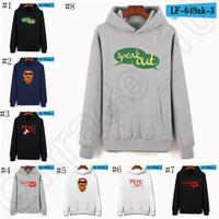 animal speak - Speak Out Game Hoodie sweatshirt long Sleeve Pollover Hip Hop Tees Cotton o neck Winter Clothes XXS XL colors LJJO797