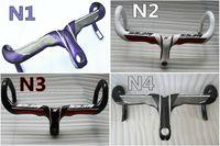 Wholesale 3K UD Models of NESS Road bike carbon Handlebar with mm mm