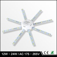 Wholesale LED Ceiling Lamp Octopus Light W W W W LED Light Board V SMD high bright Energy Saving Expectancy led lamp bedroom light