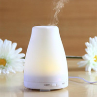 Wholesale 100ML LED Light Color Change Dry Protect Ultrasonic Essential Oil Aroma Diffuser Air Humidifier Mist Maker Home Office