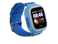 Niño Q90 pantalla táctil WIFI Smart Watch localizador de ubicación dispositivo GPS Tracker reloj para los niños Anti Lost Monitor PK Q80 Q60 Q50