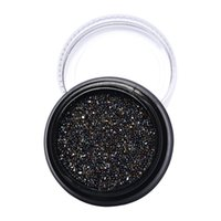 Wholesale New No1 to No6 Color mm Circle Beads Nail Art Rhinestones Glitters Nail Art Gems Decoration