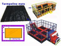 amusement net - High quality Fitness Trampoline amusement trampoline accessories Trampoline mat kid jumping net customized trampoline net black Jump network