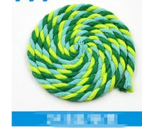 Wholesale 02 Sewing accessories MM colorful cotton rope drawstring pants pocket DIY hand woven cotton rope Pocket Cap