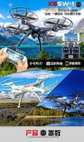 Wholesale X5SW Four axis aircraft aerial X5SW WIFI real time transmission mobile phone remote control drones d and VR glasses