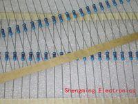 Venta al por mayor 100PCS 1 / 4W vatio 2 ohm 2R Resistor de película de metal 0.25W 1% ROHS