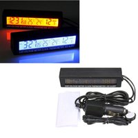 automotive lcd displays - Auto Car In Outdoor Thermometer W Sensor For Automotive A C Digital LCD Display