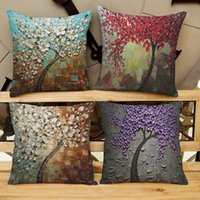 best oil materials - Oil Painting Style Pillowslip cm Material For Choosing Best Decoration Rooms