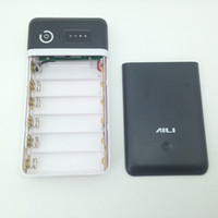 battery backups suits - DIY V V V V V Power Bank case suit for V Li ion Lithium battery Charger backup power output DC