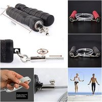 gym equipment exercises - Newest Skipping Rope Crossfit Jump Rope Men Women Gym Fitness Equipment Sport Jumping Rope Training Exercise Skipping Speed Ropes