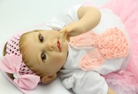 baby dolls that look real - Soft Silicone NPK Collection Dolls inch cm Reborn Babies Lifelike Princess Girl That Look Real kids Best Playmate