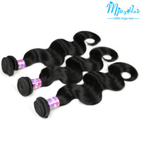 Wholesale 7A Brazilian Human Virgin Hair Extensions Double Weft Human Hair Bundles No Shedding No Tangle Remy Human Hair Weaves Wefts