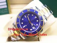 Compra Cerámica asia-2017 El nuevo reloj de alta calidad de lujo Asia 2813 Movimiento mecánico 40mm azul bisel de cerámica 116613 16613 Automatic Mens Watches
