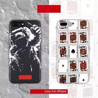 apple poker - Hottest Design Poker Spaceman Cell Phone Cases For iPhone6 s Plus sPlus iPhone7 Plus Soft Cases Dull Polish Touch High Quality