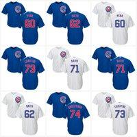Wholesale 2017 Chicago Cubs Jersey Felix Pena Caleb Smith Wade Davis Victor Caratini Duane Underwood Coolbase Baseball Jerseys
