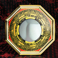 antique convex mirrors - Feng shui bagua mirror medallion bagua mirror convex concave mirror lens compass convex lens feng shui supplies decoration