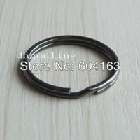 apparel snaps - Apparel Sewing Fabric Buckles Hooks keyring Keychain split ring for Snap Hook buckle key quot mm Nickle black