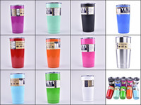 Wholesale YETI High Quality Bilayer Stainless Steel Insulation Cup OZ OZ Cups Cars Beer Mug Large Capacity Water Coffee Mug