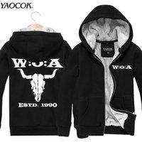 band hoody - New Famous Brand Tracksuit Hip Hop Plus Velvet Jacket Printed Wacken Open Air Rock Band Hoodies Men Hoody Sweatshirts XL