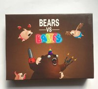 Wholesale Family Games Bears Vs Babies In Stock New Exploding Kittens Oatmeal Game Christmas Gift Card Board Games