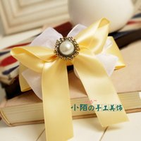 Wholesale wedding girls Hairpins kids hair donut acces cheap jewelry Decorate Korea Anniversary Party clips orchide petal korean