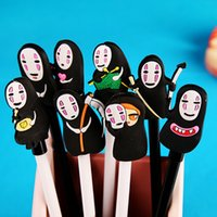 Wholesale New a Spirited Away No face Faceless Man Gel Rollerball Pen Stationery New Term Gift Kids Child Adult Gift