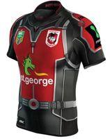 al por mayor impresión st-¡Envío libre! Camiseta nacional del rugbi de Jersey de los dragones de St. George Illawarra de la liga de rugby de NRL