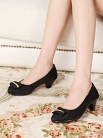 beijing ol - The spring and autumn period and the single shoe designer shoes OL vocational work shoes old Beijing cloth shoes pure black