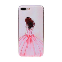 best transparencies - High Transparency Cover Up Back D visual effect Soft TPU phone shell for iphone plus best price