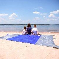 Nylon beach hiking - Hot Outdoor Nylon Beach Picnic Blanket Mat for Camping Hiking Quick Drying