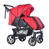 Wholesale Newly Infant Stroller Shockproof Folding Pushchair High View Baby By Toddler Four Seasons General Carriag Pram JN0111