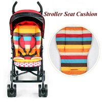 Wholesale Rainbow Cotton Stroller Liner Seat Cushion Waterproof Child Carriage Thick Mat Baby Car Umbrella Cart Pad Stroller Accessories