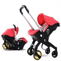 babies sleeping in car seats - Baby Stroller in Newborn Infant Sleeping Basket Baby Safety Car Seat Baby Carriage Easy Folding Pram