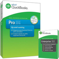 Wholesale 2016 brand new Q Books Pro accounting software full version English language for win plastic box