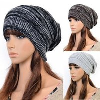 Wholesale Unisex Braided Winters Fashion Designed Cool Mens Knit Baggy Cap Berets DLV
