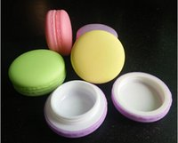 Wholesale Candy color Macaron cosmetic empty Lipstick lip balm container macaron sub bottling DIY lip gloss box
