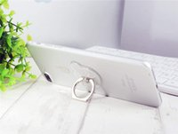 Wholesale 50pcs Phone Ring Holder degrees rotating Flash powder metal finger phone bracket Stand for iphone mobile phone With Retail Box