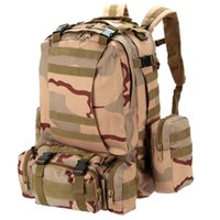 basketball combine - 2016 new sports outdoor climbing hiking bag multifunctional combined tactical army fan pack L camouflage Backpack