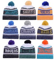 Wholesale 2017 New Arrival Beanies Hats American Football team Beanies Sports Beanie Knitted Hats drop shippping Snapbacks Hats album offered B24