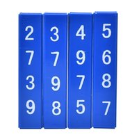 accordion blocks - 1 Sets Learning Quick Calculation Blocks Children Kids Magic Tricks Props Toys Baby Math Education Toy
