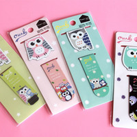 Wholesale 2 set Catcher in the Rye Owl metal magnetic bookmarks bookmarks for books Share book markers tab for books stationery